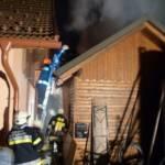 Zwischendeckenbrand in Schilterndorf bei Bleiburg