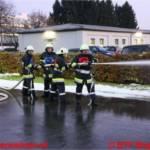 Erfolgreiche Branddienstleistungsprüfung der Betriebs-FW Magna Steyr