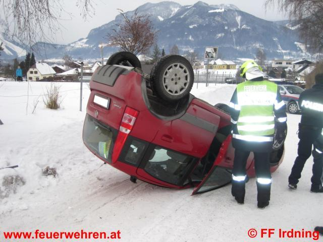 Verkehrsunfall in der Pichlarnerstraße