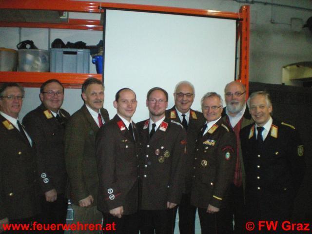 Freiwillige Feuerwehr Graz unter neuer Führung