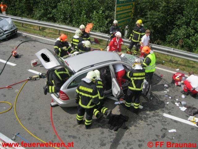 Jahresbilanz 2011: Feuerwehr Braunau rettet 28 Menschen