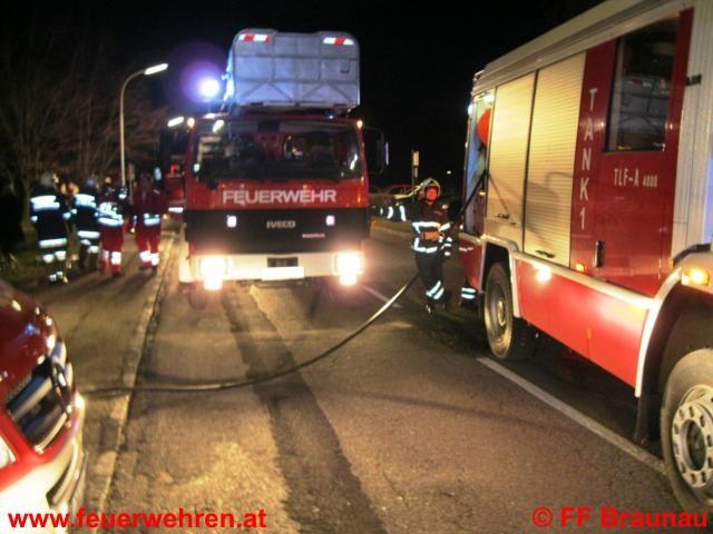 Feuerwehr Braunau rettete bei Hochhausbrand 55 Menschen und 5 Tiere
