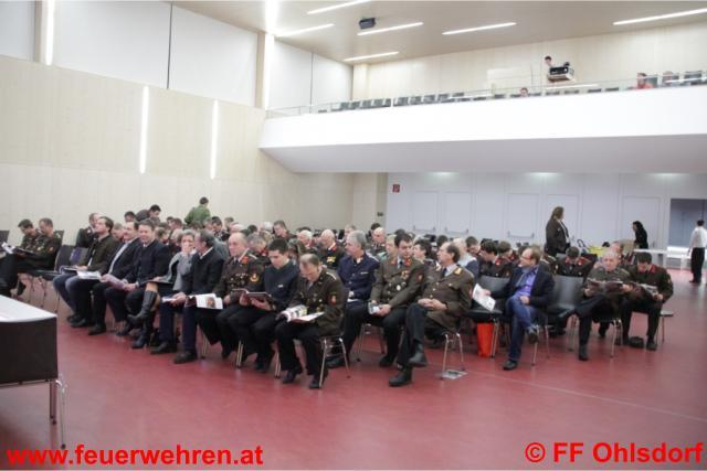 Jahresvollversammlung der FF Ohlsdorf