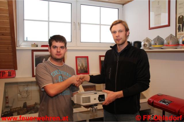 Wirtschaft unterstützt FF Ohlsdorf