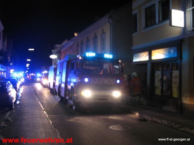 Wohnungsbrand St.Georgen im Attergau