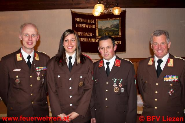 Erste Feuerwehrkommandantin Stv. im BFV Liezen