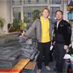 Gemeinsam gegen die Kälte - FF Graz sammelt Decken für Bedürftige