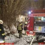Wohnhausbrand in Ohlsdorf