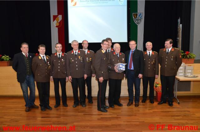 Jahresvollversammlung FF Braunau
