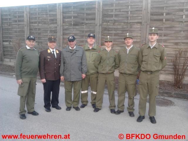 Vier Mal Gold beim Funkleistungsabzeichen für den Bezirk Gmunden