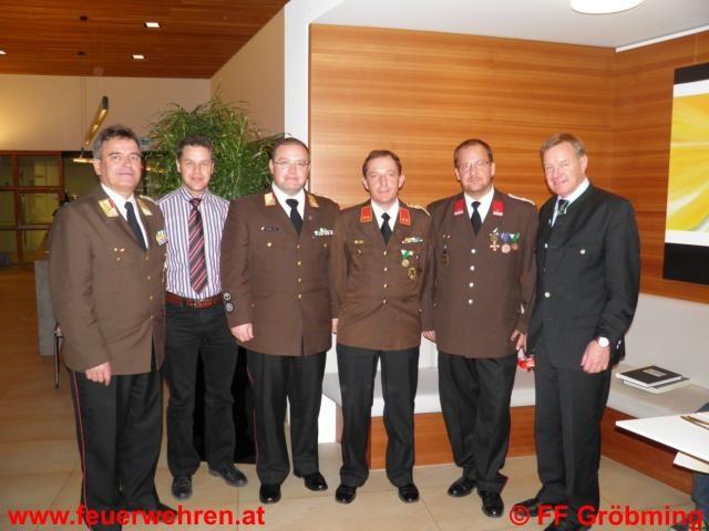 Wehrversammlung der FF Gröbming mit Neuwahl des Kommandos