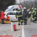 Verkehrsunfall auf der L 734 Öblarnerstraße