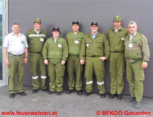 Sechs Mal Silber beim Funkleistungsabzeichen für den Bezirk Gmunden