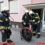 Wohnungsbrand in Bleiburg - Florianisänger rettete Leben