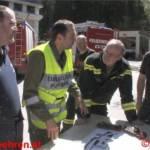 20 Feuerwehren bekämpften Wassermassen im leistungsfähigsten Kraftwerk der Stmk.