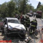 Ennstalbundesstraße: 3 Schwerverletzte bei Frontalem