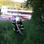 Realistische Atemschutzübung der FF Graz