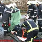 Einsatzübung: Menschenrettung aus dem Hilmteich