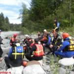 Spezialausbildung der Rietzer Wasserdienstgruppe