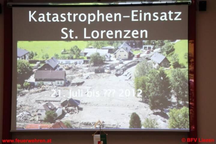 Knapp 1 Woche nach der Katastrophe in St. Lorenzen - aus Sicht der FW