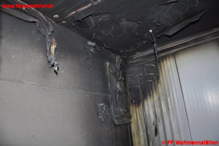 Brand in Schweinestall – unzählige Tiere vor dem Ersticken gerettet