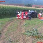 Verkehrsunfall in Aichegg fordert Hubschraubereinsatz