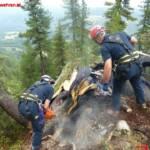 Waldbrandeinsatz auf Kammspitze bei Gröbming