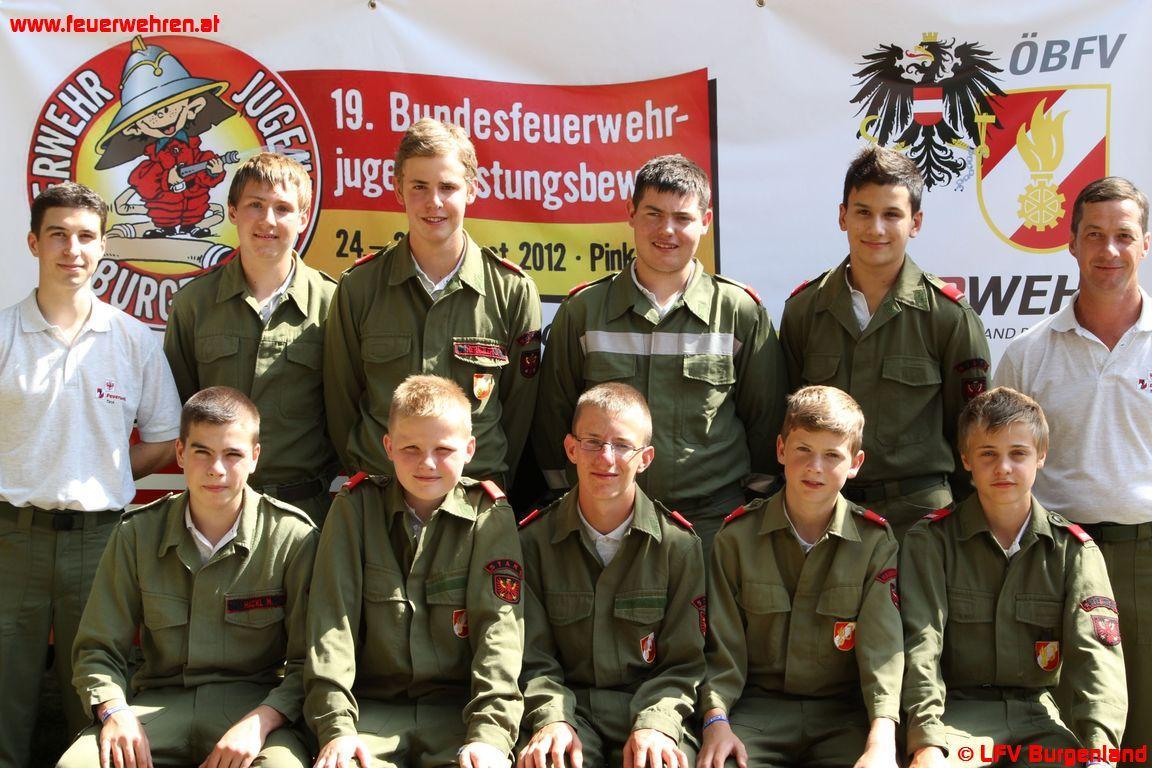 Feuerwehrjugend des Bezirkes Imst vertrat Tirol beim Bundesbewerb