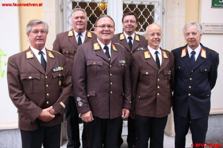 Grazer Abschnittsbrandinspektoren einstimmig wiedergewählt