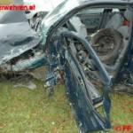 FF Weistrach: Menschenrettung nach Verkehrsunfall auf der B 122 5