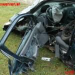FF Weistrach: Menschenrettung nach Verkehrsunfall auf der B 122 1