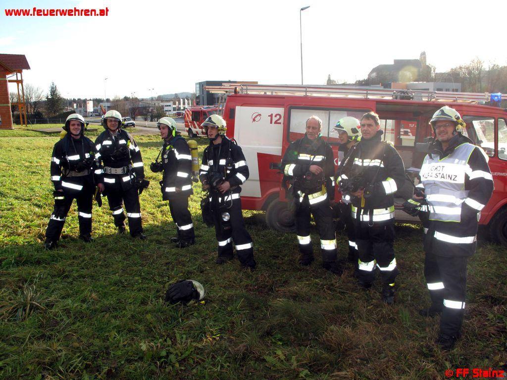 Sechs Verletzte bei Brand in Pichling b. Stainz