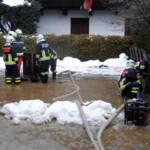 Überflutungen und Verklausungen in Kitzbühel