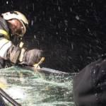 Schwerer Verkehrsunfall bei St. Martin / B320