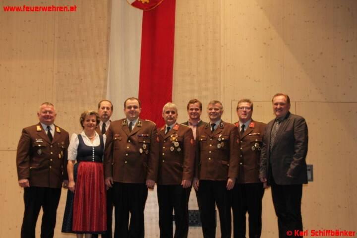 Jahresvollversammlung und Neuwahl des Feuerwehrkommandos Ohlsdorf