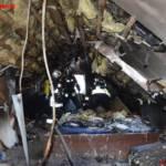 Dachstuhlbrand in Gänserndorf-Stadt