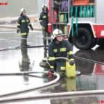 Containerbrand am Liebstattsonntag