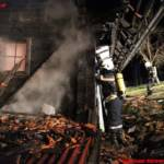Wohnhausbrand in Bad Gams