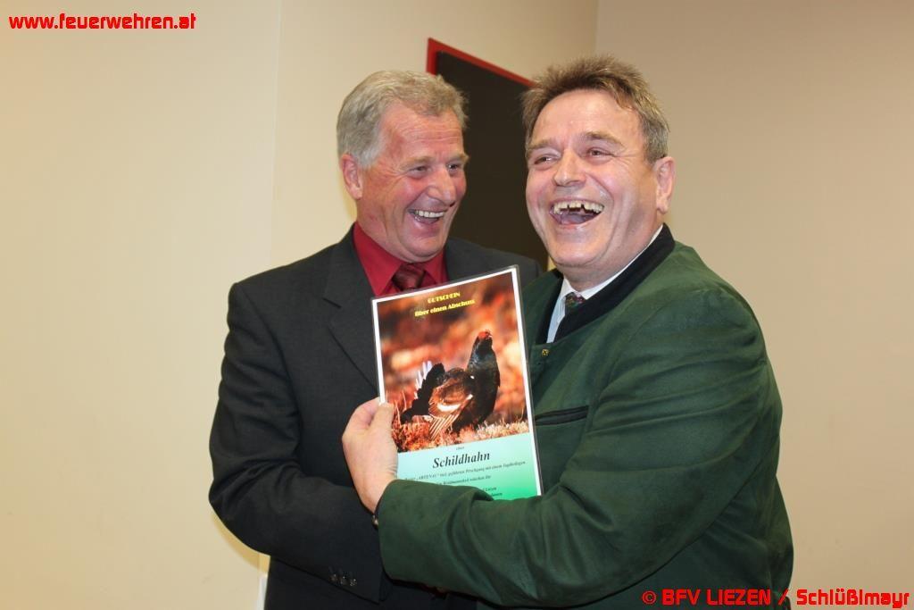 LBDS Gerhard Pötsch feierte 60er