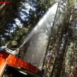 Modellflugzeug löste Brandeinsatz aus