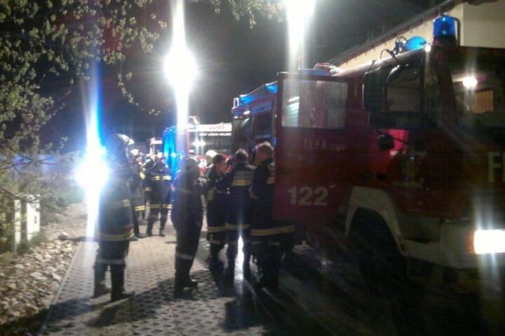 Zwei Verletzte bei Gasexplosion in Wohnhaus