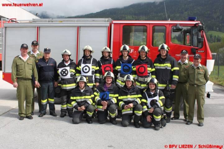 Florianitag und Branddienstleistungsprüfung