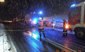 FF Leoben-Stadt: Fahrzeugbergung Häuselberg