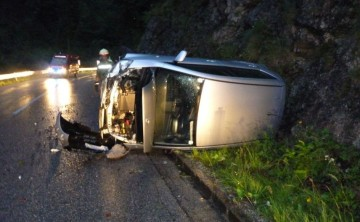 FF Hinterstoder: Verkehrsunfall mit eingeklemmter Person