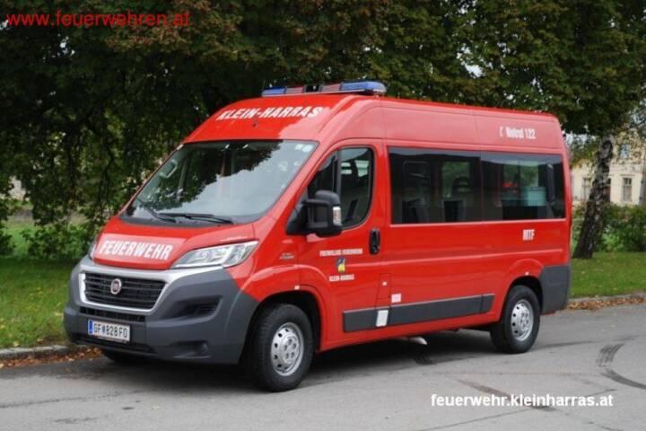 FF Klein-Harras: Neues MannschaftsTransportFahrzeug (MTF) 1