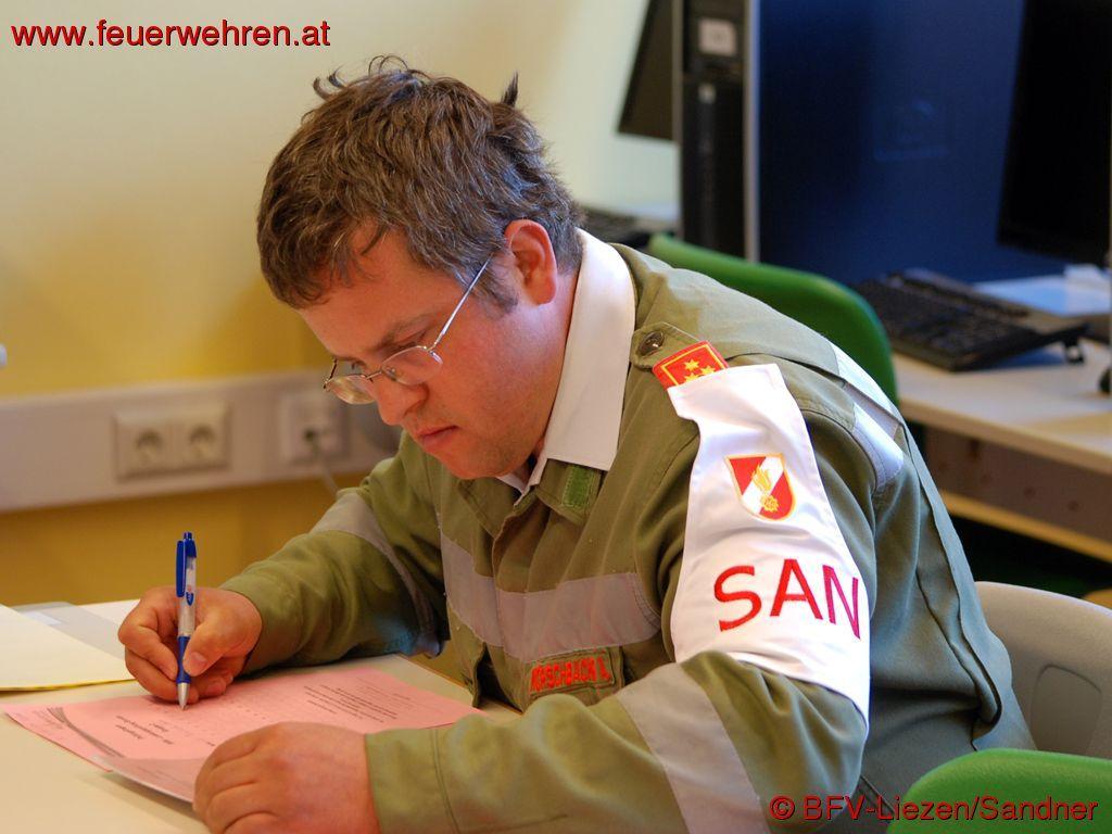 BFV Liezen: Sanitätsleistungsprüfung (SANLP) 2014 in Gröbming 2