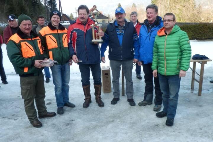 BFV Liezen, Paltental: Abschnitts - Eisstockturnier in Trieben 1
