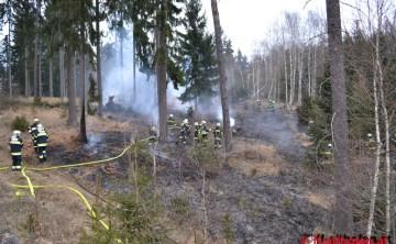 FF Althofen: Waldbrand in Althofen