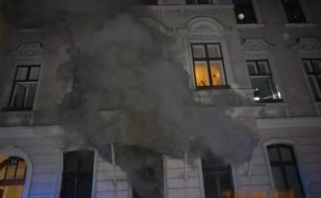 BF Wien: Wohnungsvollbrand in Wien-Leopoldstadt