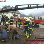 BFV Liezen (Gröbming): Feuerwehr rettet Pferd aus Jauchengrube 3